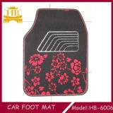Bella stuoia antisdrucciolevole del pavimento dell'automobile del fiore