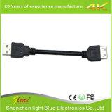 Удлинительный кабель USB цвета высокого качества черный