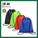 Werbung Werbeartikel Polyester Nylon Sports Gym Drawstring Rucksack Drawstring Bag