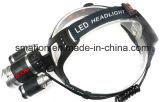 高いPwerのクリー族LEDのズームレンズはハンチング充電電池のヘッドライトを調節する
