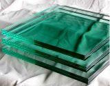 建物の家具De&simgのための染められた緑薄板にされたガラス; 式辞