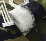 Enfants vêtant les pulls molletonnés 100% estampés par mode de garçons de coton