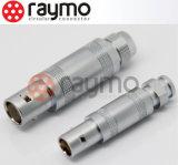 Ffa 00s 0s 1s 2s Câble coaxial Connecteur Raymo avec Ce RoHS ISO