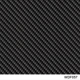 Film hydrographique d'arrivée de Kingtop de carbone de la fibre PVA de l'eau d'impression imprimable neuve de transfert pour le plongement hydraulique avec 0.5m larges