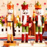2017 het heet-Verkoopt Goedkope Standbeeld van de Notekraker van de Hars van de Douane voor Kerstmis Deco