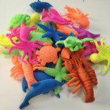 Heiße Form-Tiere, welche die Spielwarenstarfish-Fisch-Schildkröten-Ozean-Tiere wachsen Spielzeug wachsen