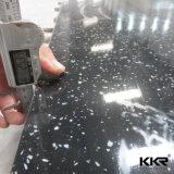 Folhas de superfície contínuas veando 170329 do teste padrão 12mm do mármore de Kingkonree