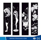 세륨 & ISO9001를 가진 장식적인 예술 유리를 인쇄하는 생명 실크