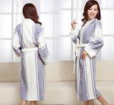 Coton confortable Cathrobes de longue chemise de femmes