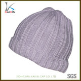 Venda por atacado polar do chapéu do Beanie do velo do Beanie feito sob encomenda do Knit do Crochet