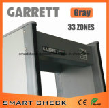 33 Zonen-Flughafensicherheit-Türrahmen-Metalldetektor-Torbogen-Metalldetektor