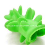 Alimentatore lento del grande di formato del cane silicone speciale della ciotola