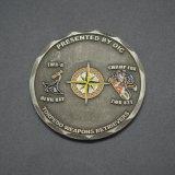 個人化された高品質の挑戦硬貨の軍隊の硬貨