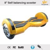 8inch équilibrant le scooter électrique Bluetooth et l'éclairage LED