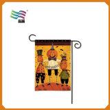 Stampa esterna di sublimazione della tintura della bandiera del giardino su ordinazione decorativo poco costoso