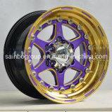 Différents RIM de roue d'alliage de véhicule des roues de couleur de marché des accessoires F46003