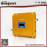 GSM/CDMA 900MHz hohe Gewinn-Goldfarben-mobiles Signal-Verstärker