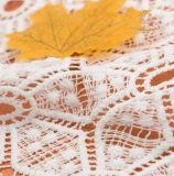Nuovo tessuto caldo del merletto del ricamo del poliestere Tone100 di vendita due