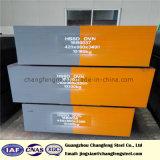 Forjada Barra plana de acero de moldes de plástico (p20, HSSD 718, modificado 1.2738)