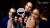 3A Batterie Selfie Light, Fit pour n'importe quel téléphone LED Circle Selfie Ring Light pour prendre Selfie