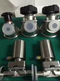 De volledige Klem van de Klep van het Diafragma van het Roestvrij staal Pneumatische, de Sanitaire Klep van het Diafragma
