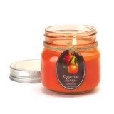 Mehrfarbiges dekoratives duftendes Sojabohnenöl-Wachs-Glasglas-Kerze