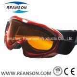 Lunettes antibrouillard de neige de lentilles de double de qualité de Reanson