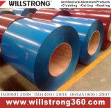 Bobina di alluminio colorata speciale per materiale da costruzione