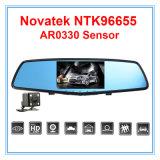 DVR cámara de auto Navotek 96655 retrovisor cámara grabadora de vídeo de coches