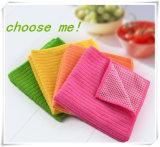 Qualitäts-Putztuch-Doppelt-Gebrauch Microfiber Tuch für Vielzweck