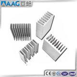 profilo di alluminio dell'espulsione del dissipatore di calore personalizzato 6063-T5