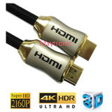 Cable lleno de HD 1080P/2160p/3D/4k HDMI TV