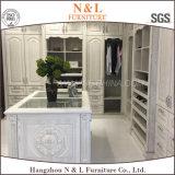 Meubles en bois de cabinet de chambre à coucher de meubles de garde-robe de cerise de N&L