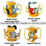 Бензиновый двигатель 2016 Robin 5HP и вал или покер конкретной вибромашины