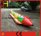 Boot van de Banaan van het Spel van het Water van de branding de Berijdende Opblaasbare voor Persoon 8