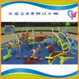 Оборудование спортивной площадки безопасной дешевой разминки детей напольное для сбывания (A-15059)