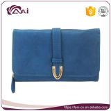 Женщин PU цвета Fani бумажник самых последних голубых кожаный