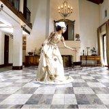 Tintenstrahl glasig-glänzende keramische rustikale Fliese für Fußboden
