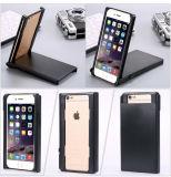 Nuovo caso venuta copertura del telefono trucco pieghevole con slot per schede