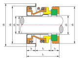 Ts F de Auto KoelVerbinding van de Pomp (type 6A, Type 68-1)