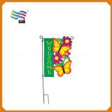 Печатание сублимации краски знамени дешевого декоративного изготовленный на заказ сада напольное