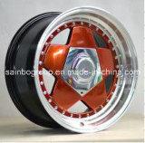 Sainbo attraktive Aluminiumauto-Legierungs-Rad-Felgen des rad-F45023
