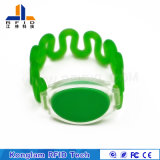 Wristband plástico impermeable de RFID para el trabajo en el terreno