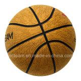 Baloncesto de cuero compuesto del precio barato