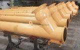 transportband van de Schroef Sicoma van 407mm de Flexibele voor Concrete het Groeperen Installatie