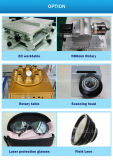 Fibre 20W, découpage en plastique de gravure de borne en métal de constructeur de machine de laser Maring de 30W Ipg