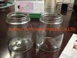 Vaso di vetro di memoria, cristalleria, vaso della candela, vaso di muratore