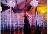 Стул Chiavari дешевой акриловой смолы венчания кристаллический прозрачный Wedding