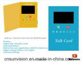 """Das Geschäft, welches 7 """" LCD die sprechenkarte vermarktet, kann Telefon-Aufruf bilden"""