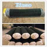 Cerca revestida da ligação Chain de engranzamento de fio da segurança do PVC